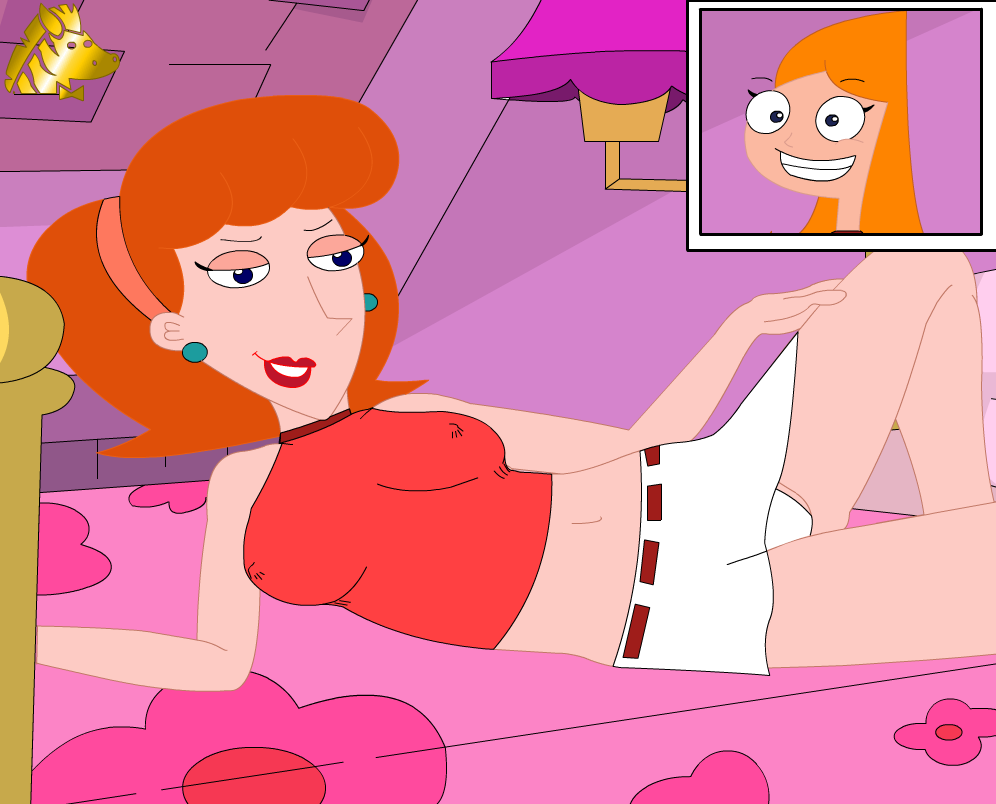 phineas ferb naked and candace Rick and morty sex robot porn