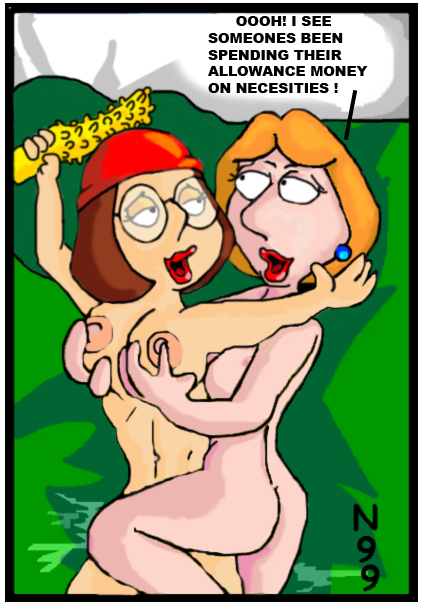 lois meg griffin nude and One piece nami x robin