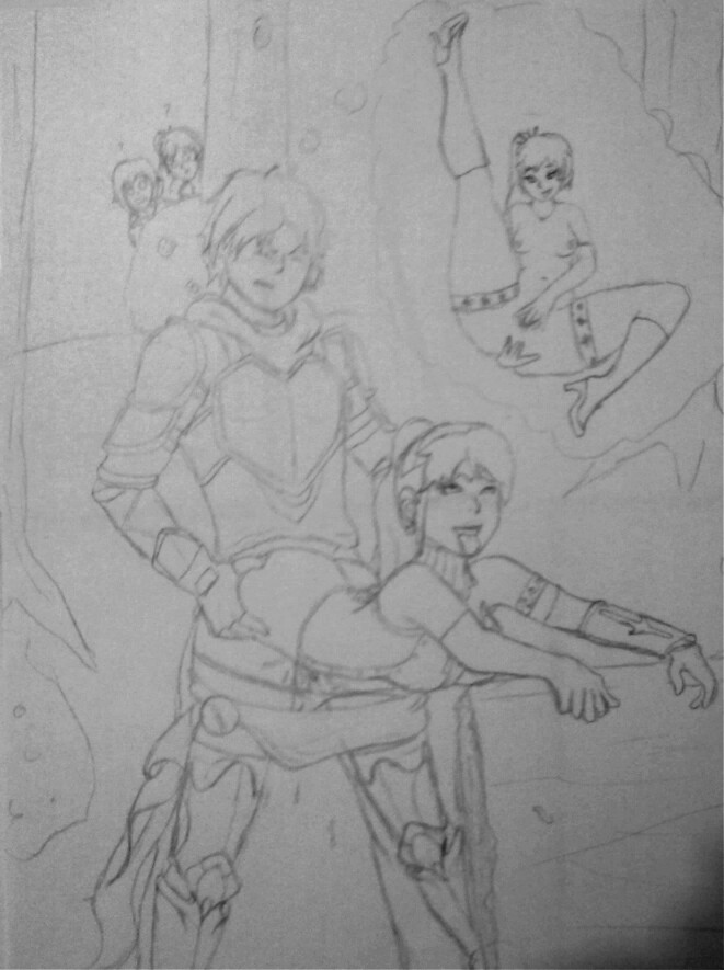 lemon fanfiction rwby and ruby jaune Bee and puppycat
