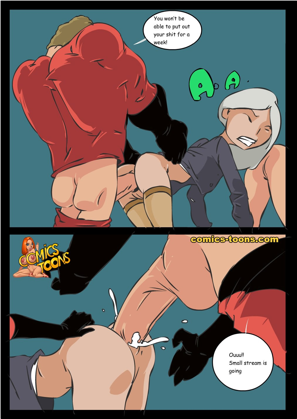 speed incredible moving at hihg King of the hill porn comic