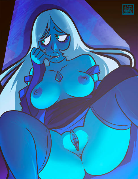 blue diamond steven universe from My time at portia nude