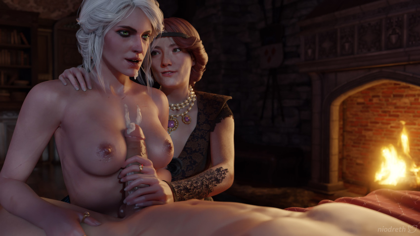 naked witcher ciri 3 the From-deepest-fathoms