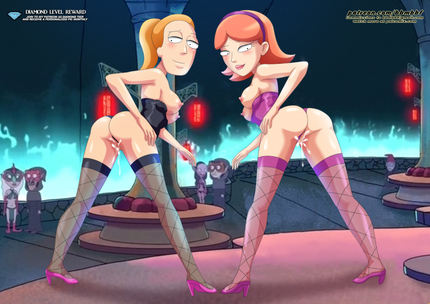 jessica rick nude morty and Raven and robin fanfiction lemon