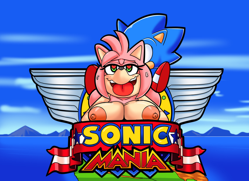 sonic from old amy how is Overly sarcastic productions red and blue