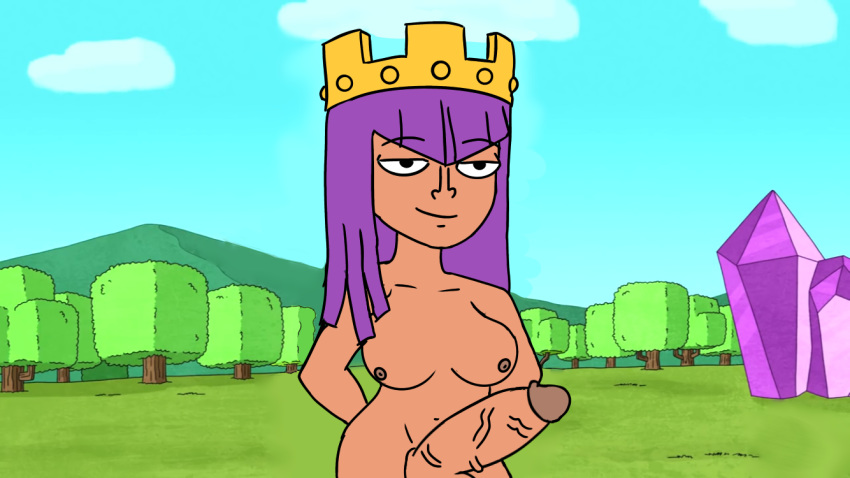 clash clans of queen barbarian The cleveland show big boob june