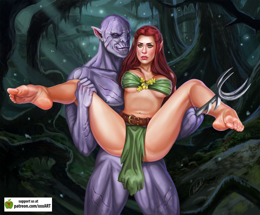 orcs of lord rings female the Flower knight girl sex scene